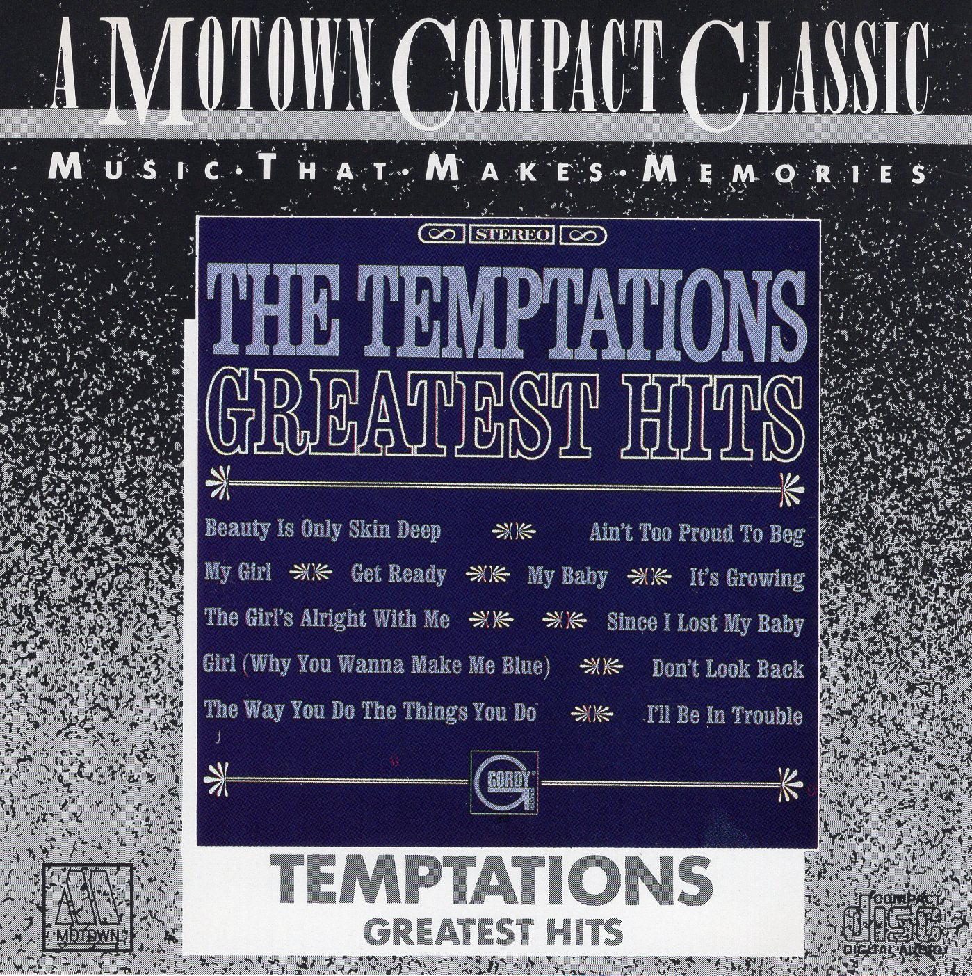 """The Temptations Greatest Hits"" The Temptations"