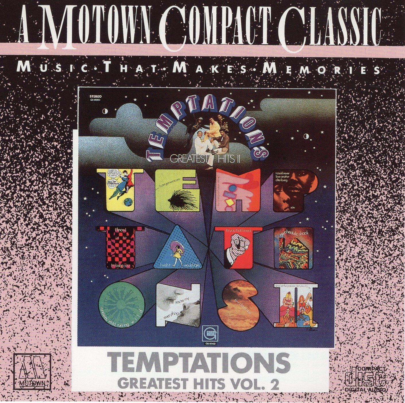 """Temptations Greatest Hits II"" The Temptations"