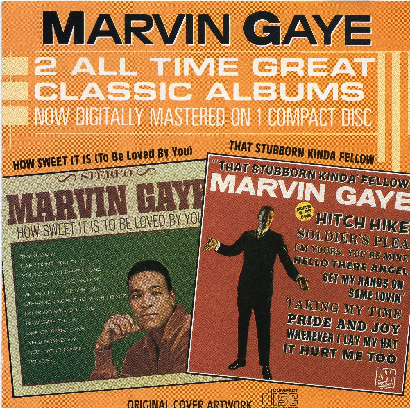 """Marvin Gays: 2 All Time Great Classic Albums"" Marvin Gays"