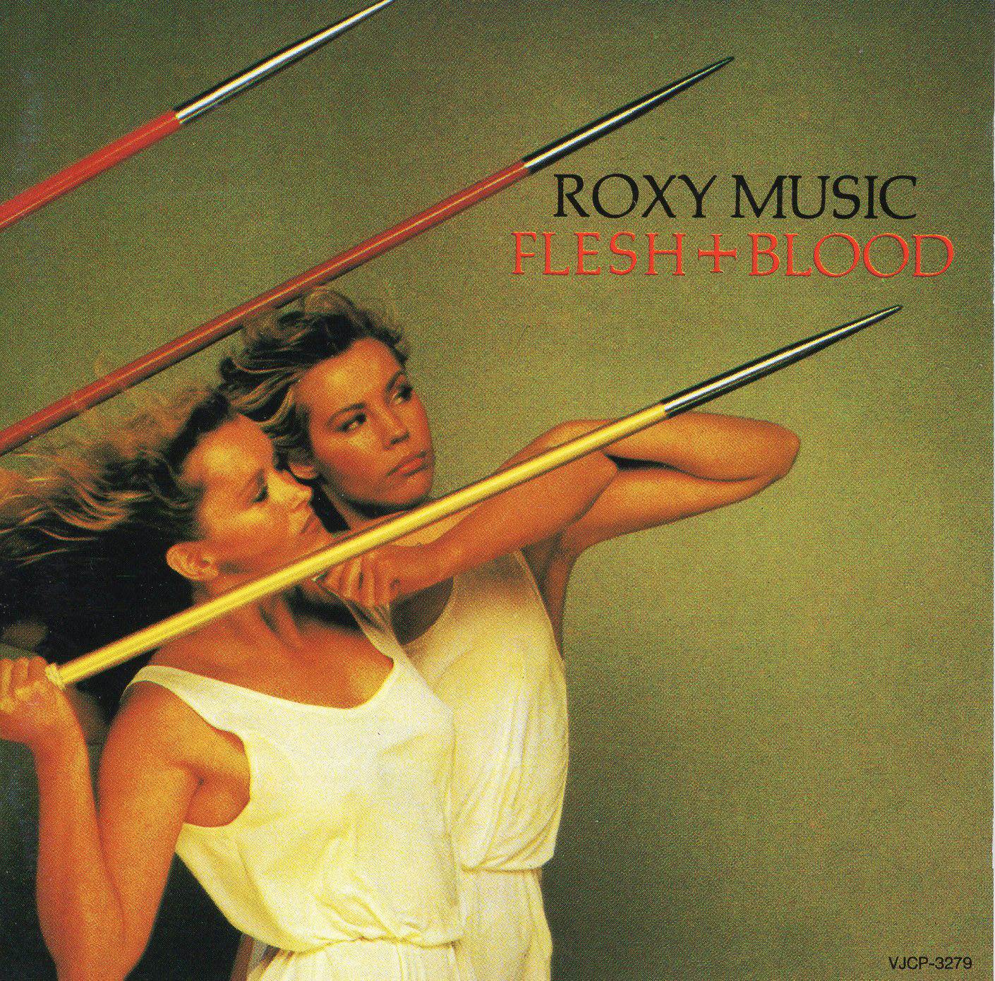 """Roxy Music Flesh+Blood"""