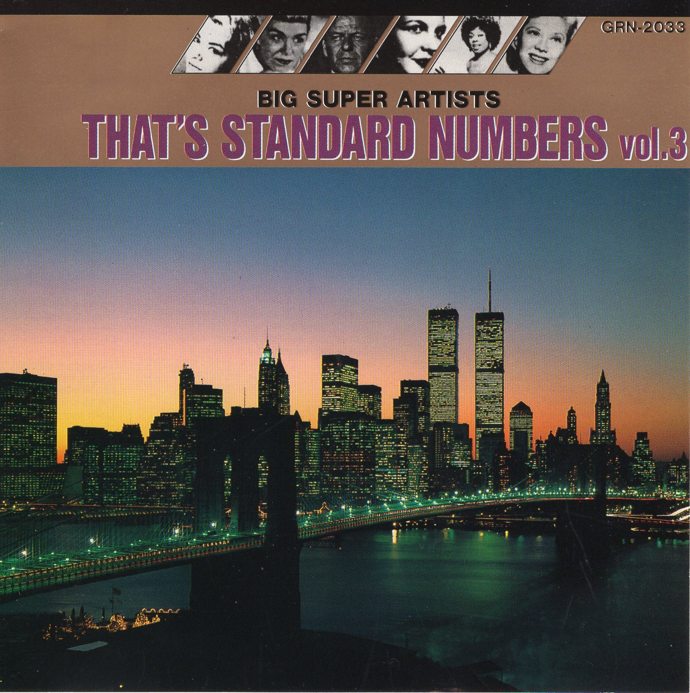 """Big Super Artists: That's Standard Numbers Vol.3"""