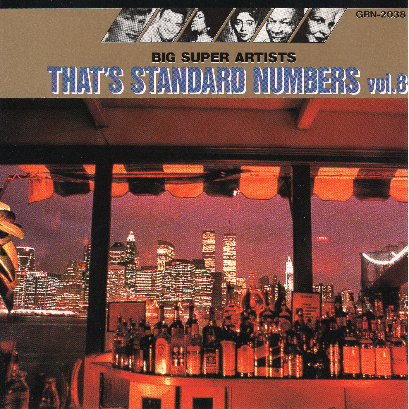 """Big Super Artists: That's Standard Numbers Vol.8"""