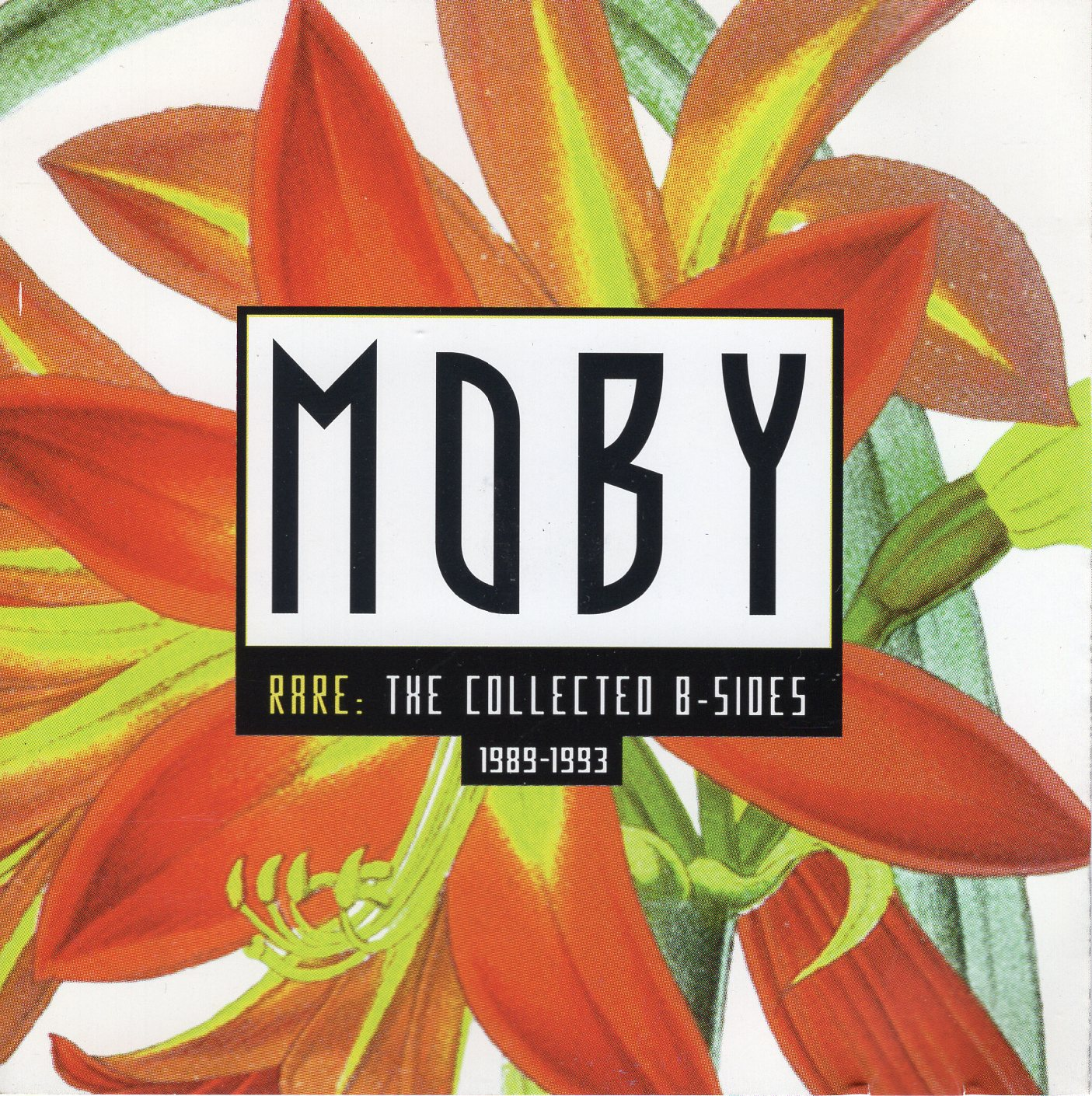 """Moby-Rare: The Collection B-Sides 1989-1993"" Moby"