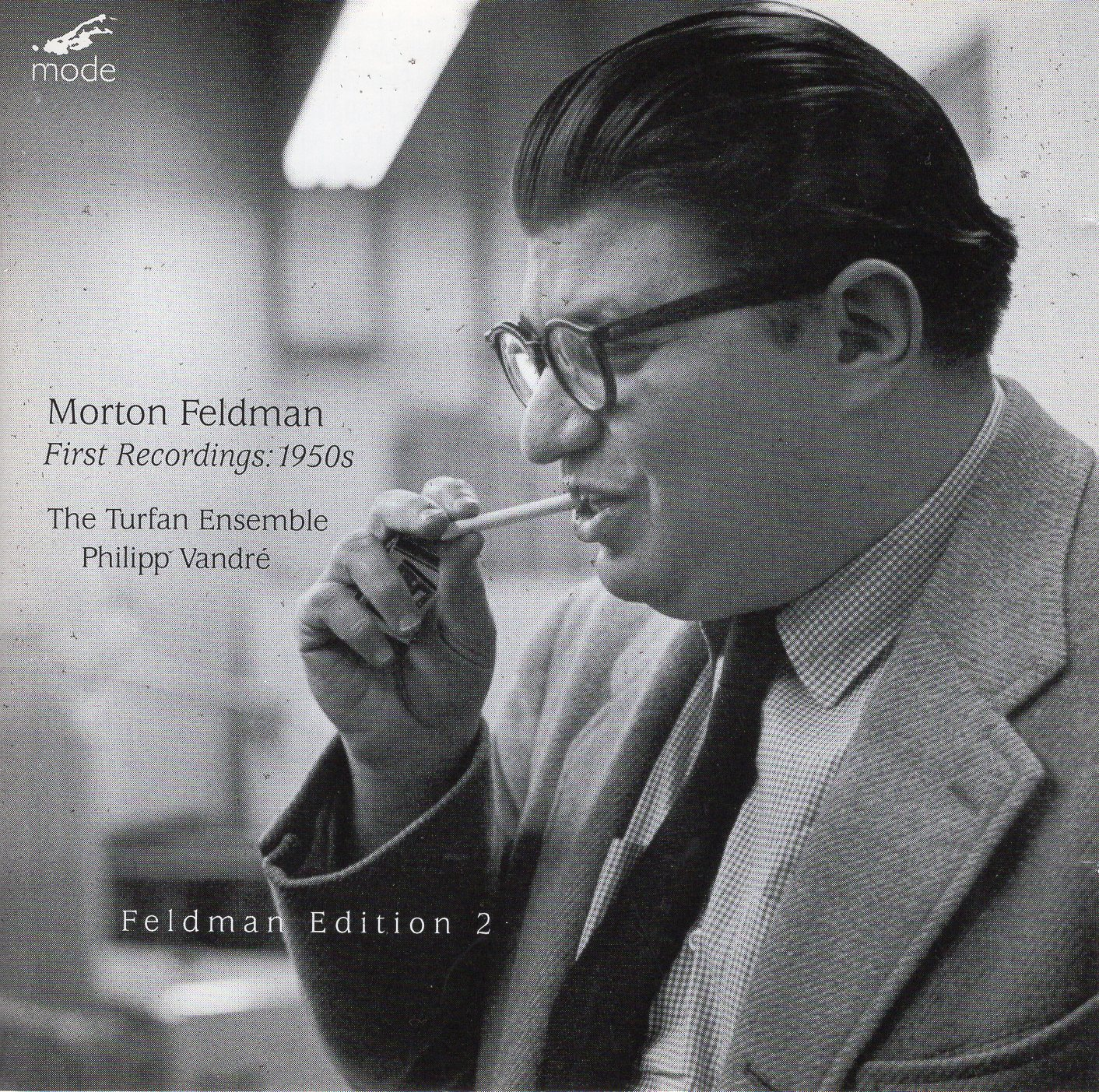 """Feldmen Edition 2 First Recordings: 1950s"" Morton Feldman"