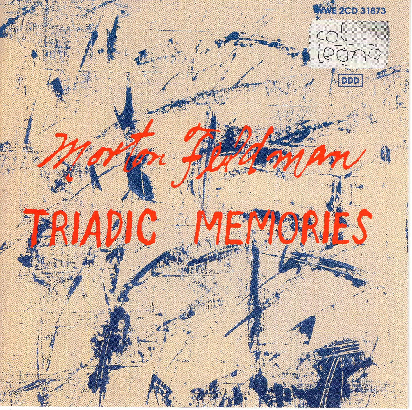 """Triadic Memories"" Morton Feldman"