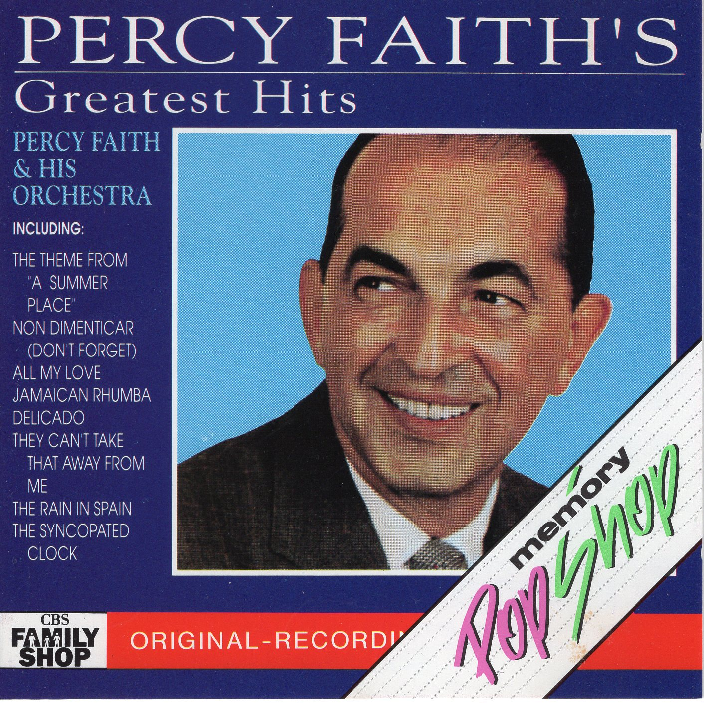 """Percy Faith's Greatest Hits"" Percy Faith"