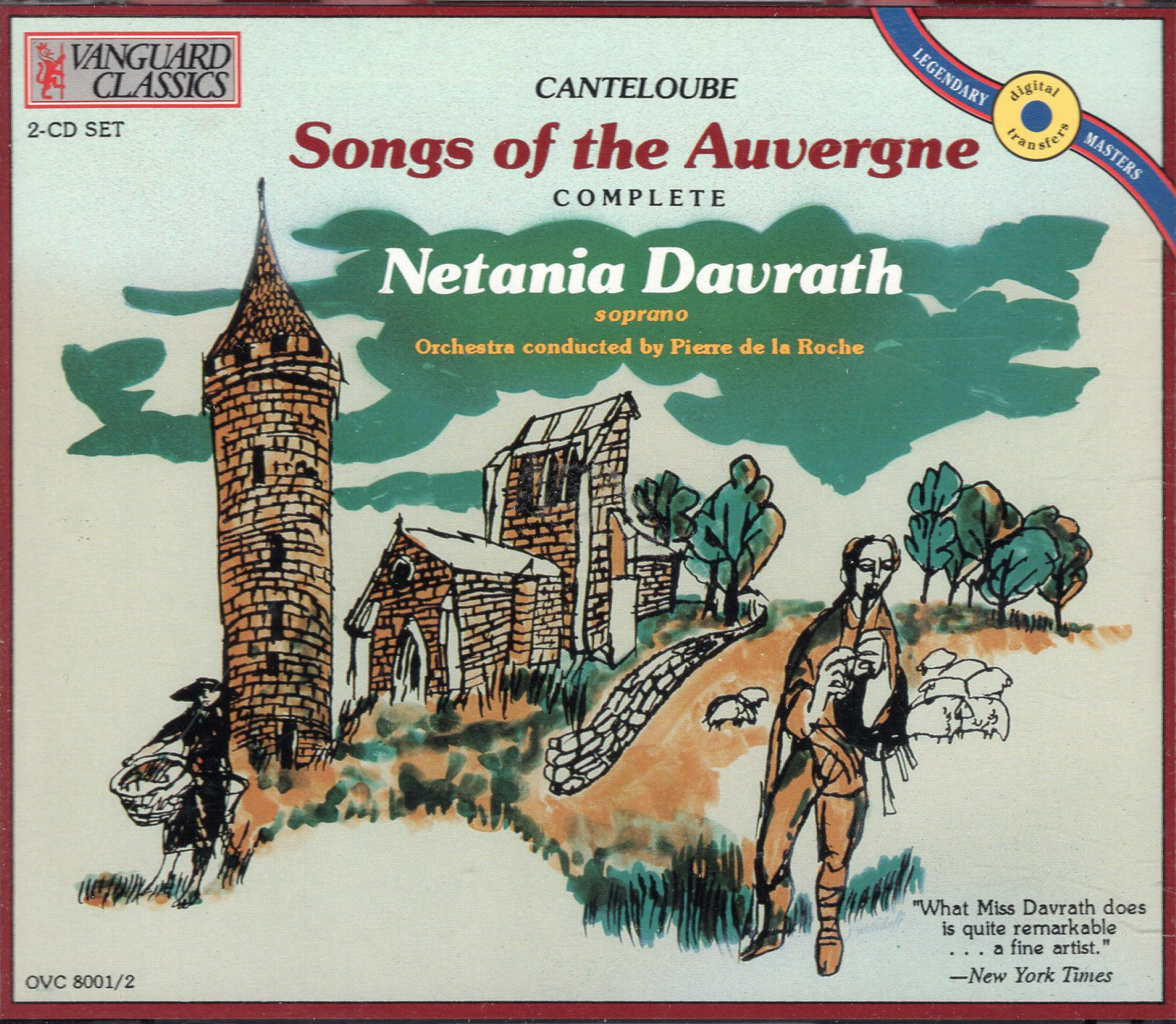 """Songs of the Auvergne"" Netania Davrath"