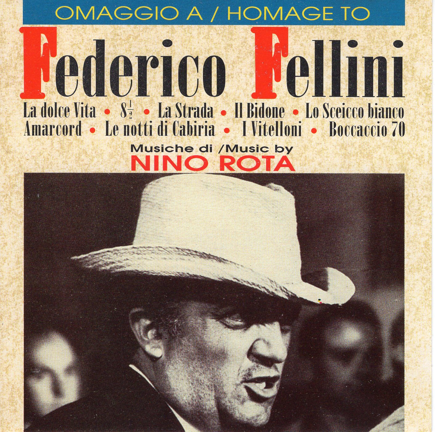 """Homage to Federico Fellini"" Nino Rota"
