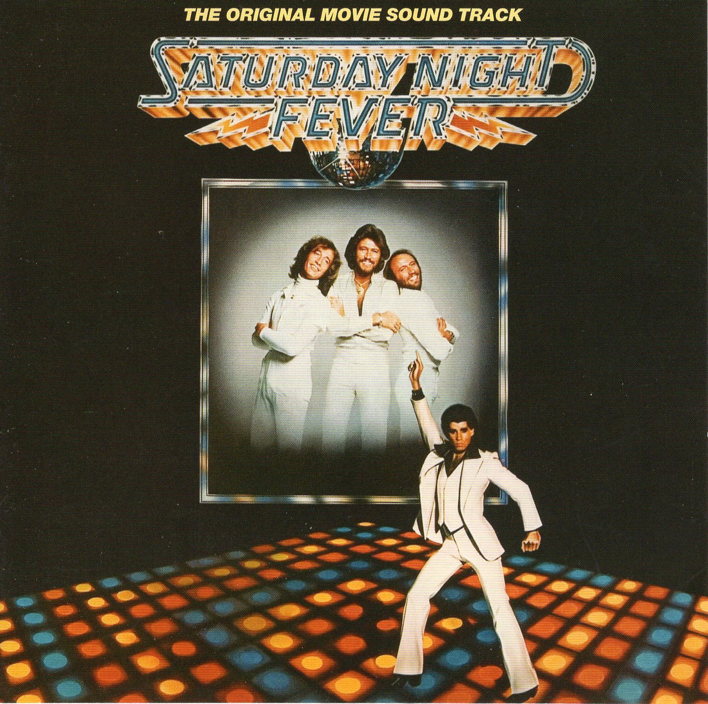 """The Original Movie Sound Track Saturday Night Fever"" Bee Gees"