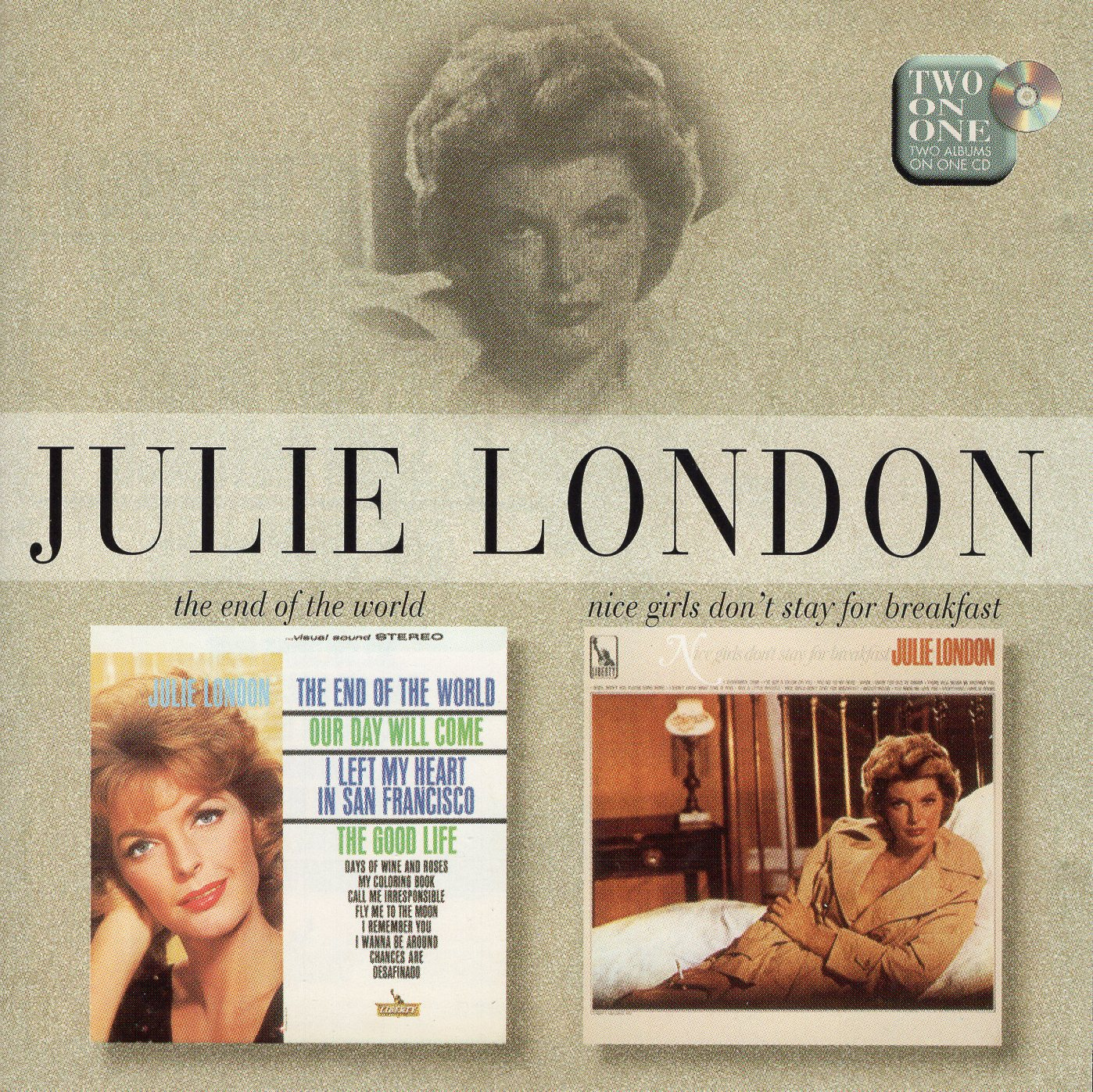 """The End Of The World, Nice Girls Don't Stay For Breakfast"" Julie London"