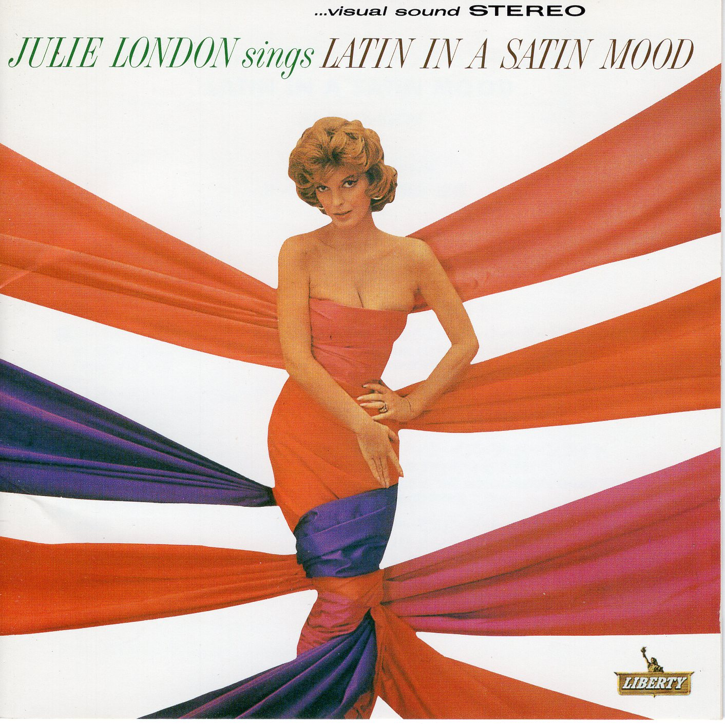 """Julie London Sings Latin In A Satin Mood"" Julie London"