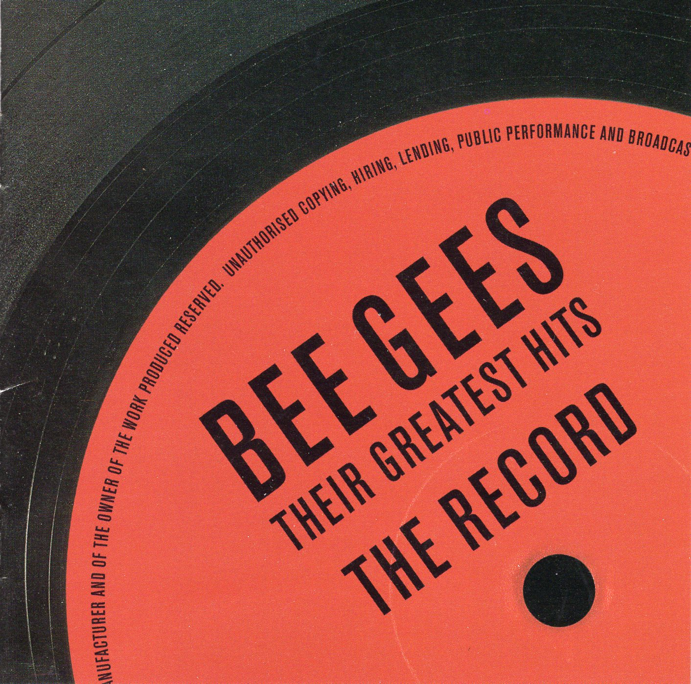 """Bee Gees Their Greatest Hits"" Bee Gees"
