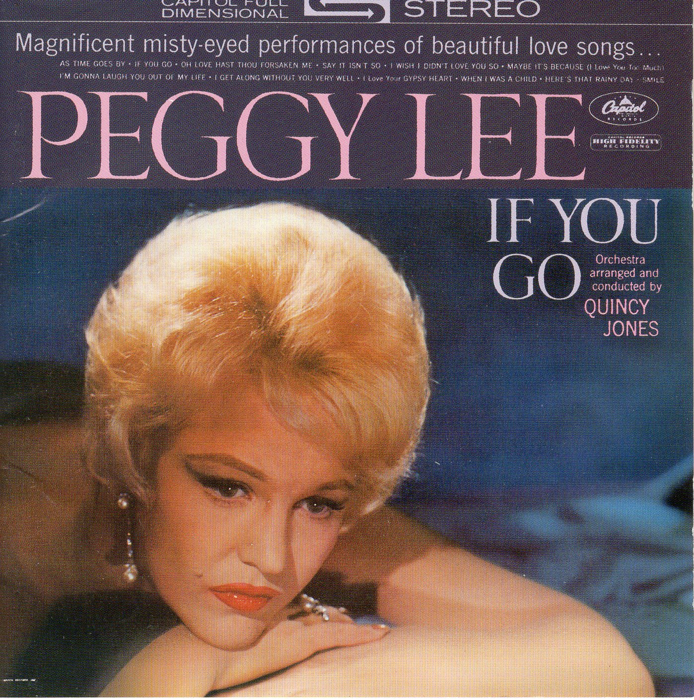 """If You Go"" Peggy Lee"