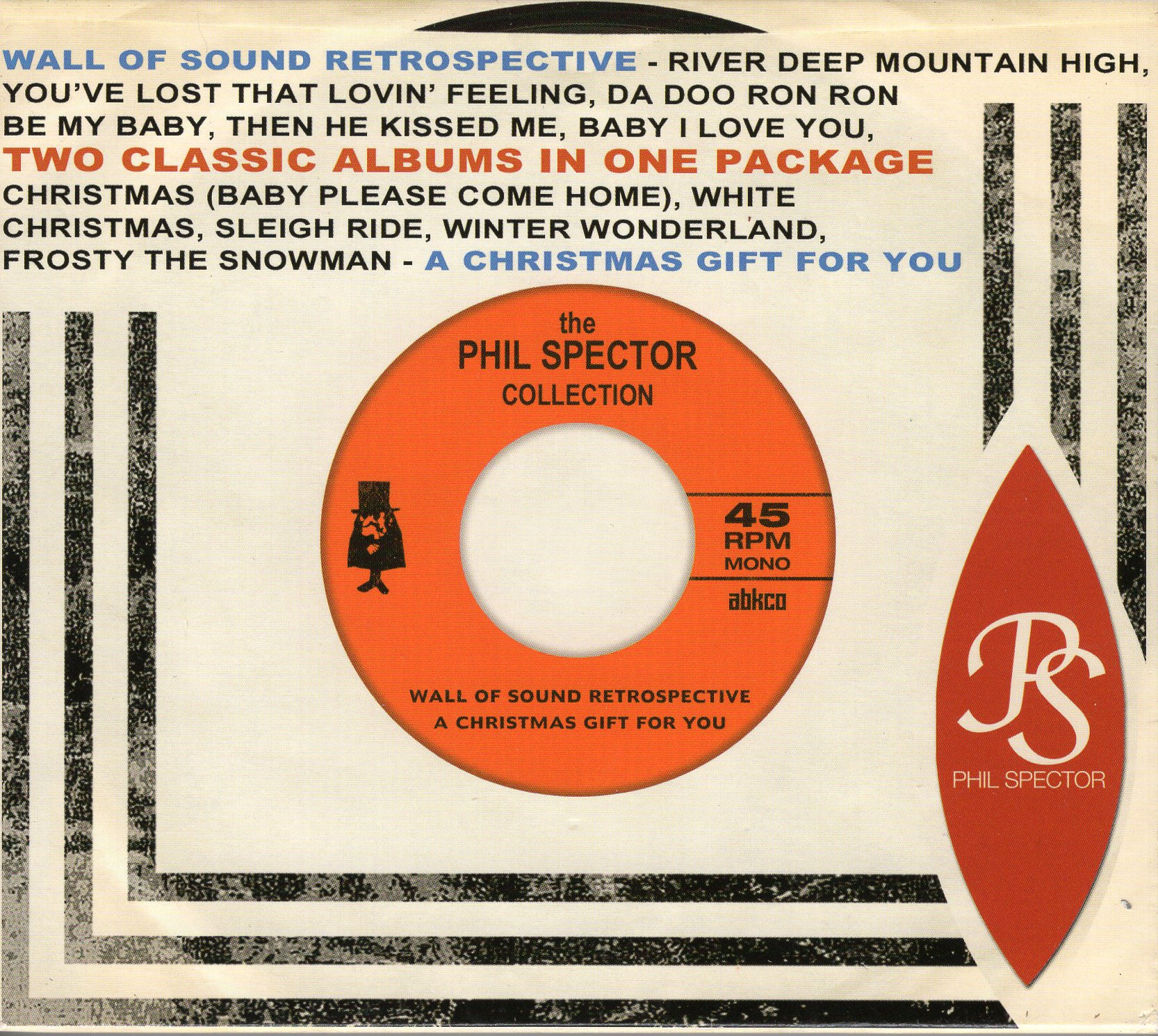 """The Phil Spector Collection"" Phillip Spector"