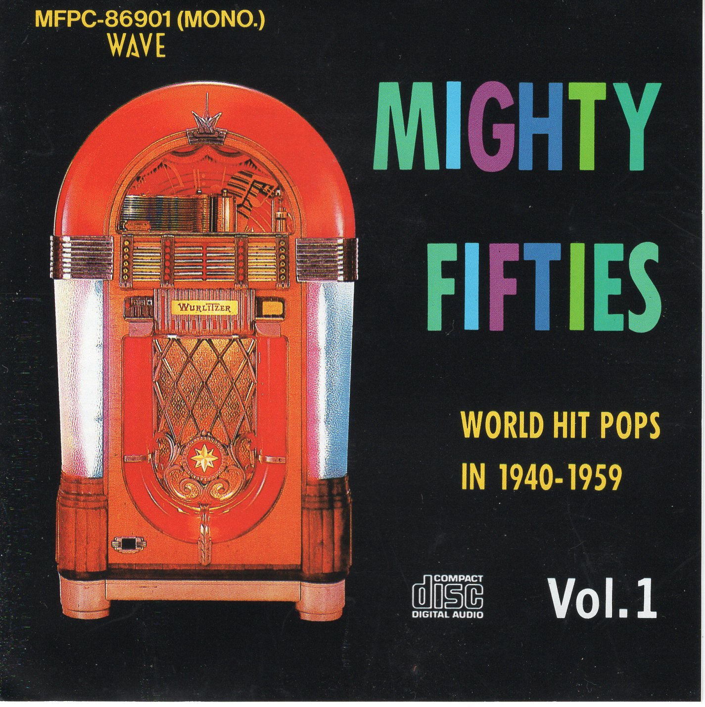 """Mighty Fifties Vol.1 Word Hit Pops In 1940-1959 """