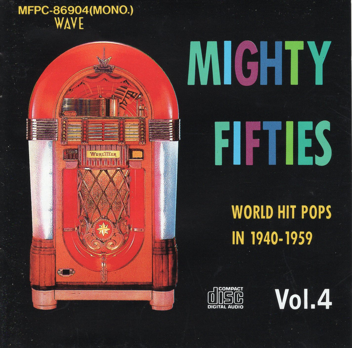 """Mighty Fifties Vol.4 Word Hit Pops In 1940-1959 """
