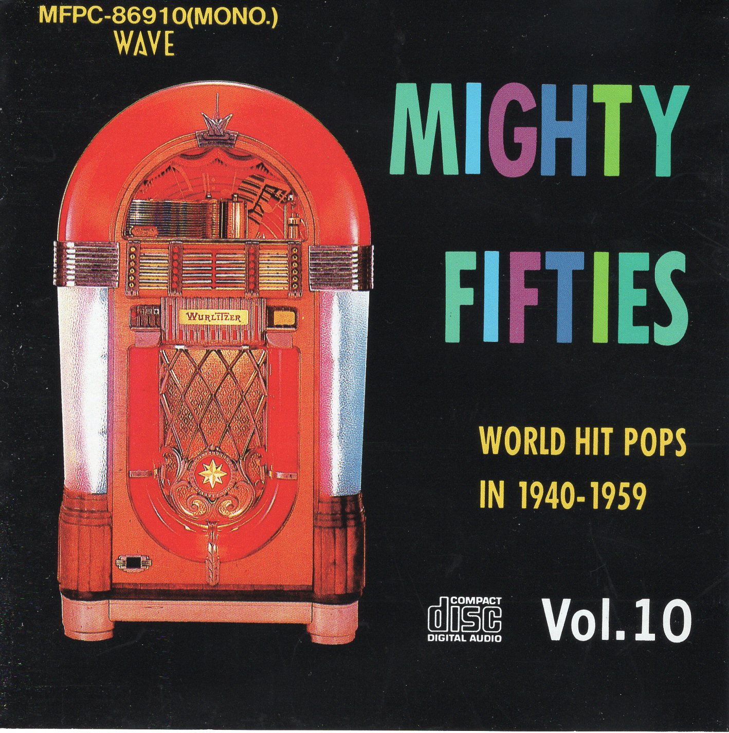 """Mighty Fifties Vol.10 Word Hit Pops In 1940-1959 """