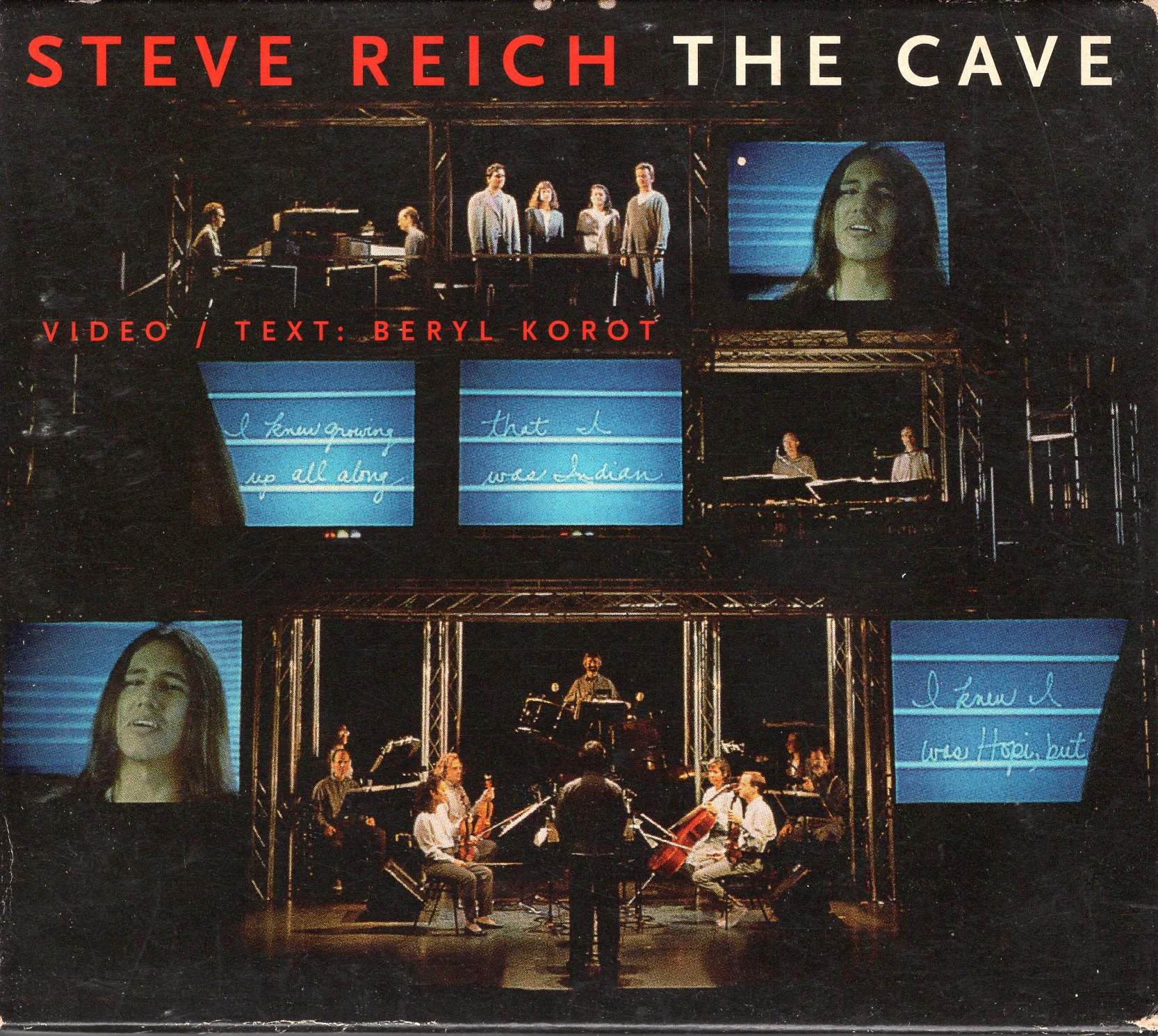 """The Cave"" Steve Reich"
