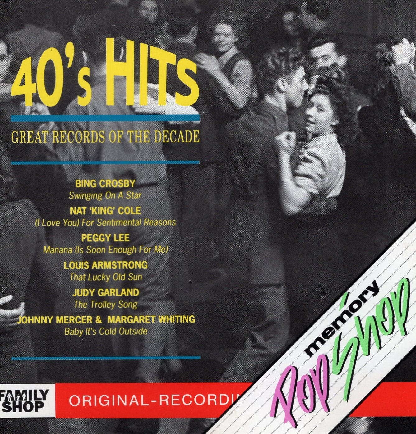 """40's Hits Great Records Of The Decade"""