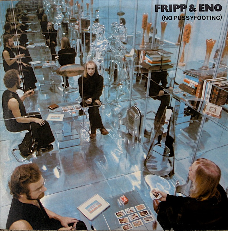 """No Pussyfooting [Disc 1]"" Brian Eno"