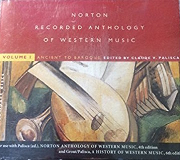 """Norton Recorded Anthology of Western Music, Vol. 1 Ancient To Baroque [Disc 1]"""