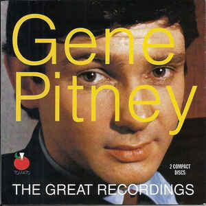 """The Great Recordings Disc 1"" Gene Pitney"