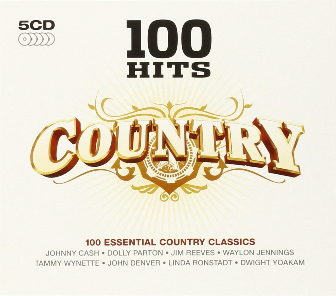 """Country 100 HITS"" Glen Campbell"