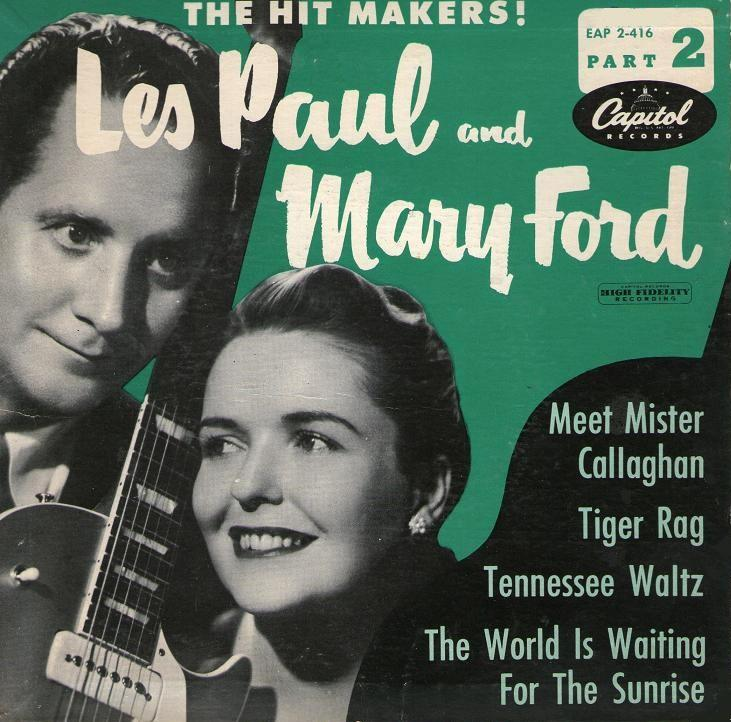 """L'Integrale Rock'n'roll  CD 3"" Les Paul & Mary Ford"