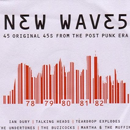 """New Waves: 45 Original 45's from the Post Punk Era Disc 2"""