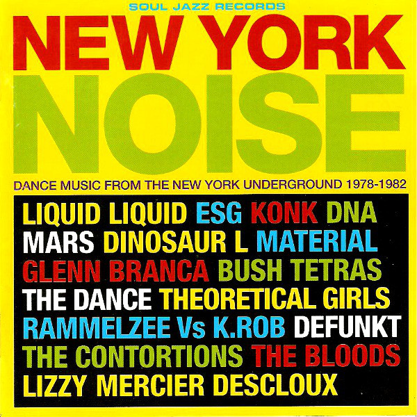 """New York Noise"" James Chance"