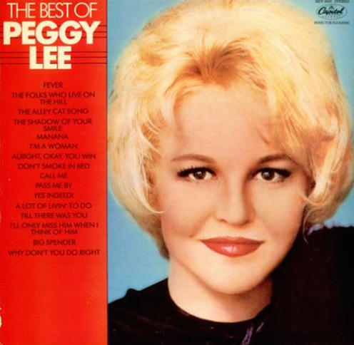 """L'Integrale Rock'n'roll  CD 2"" Peggy Lee"