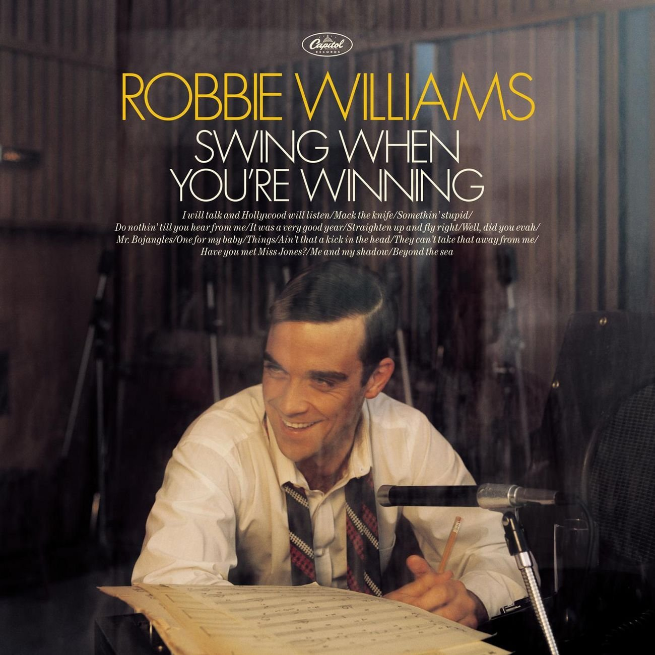 """Swing When You're Winning"" Robbie Williams"