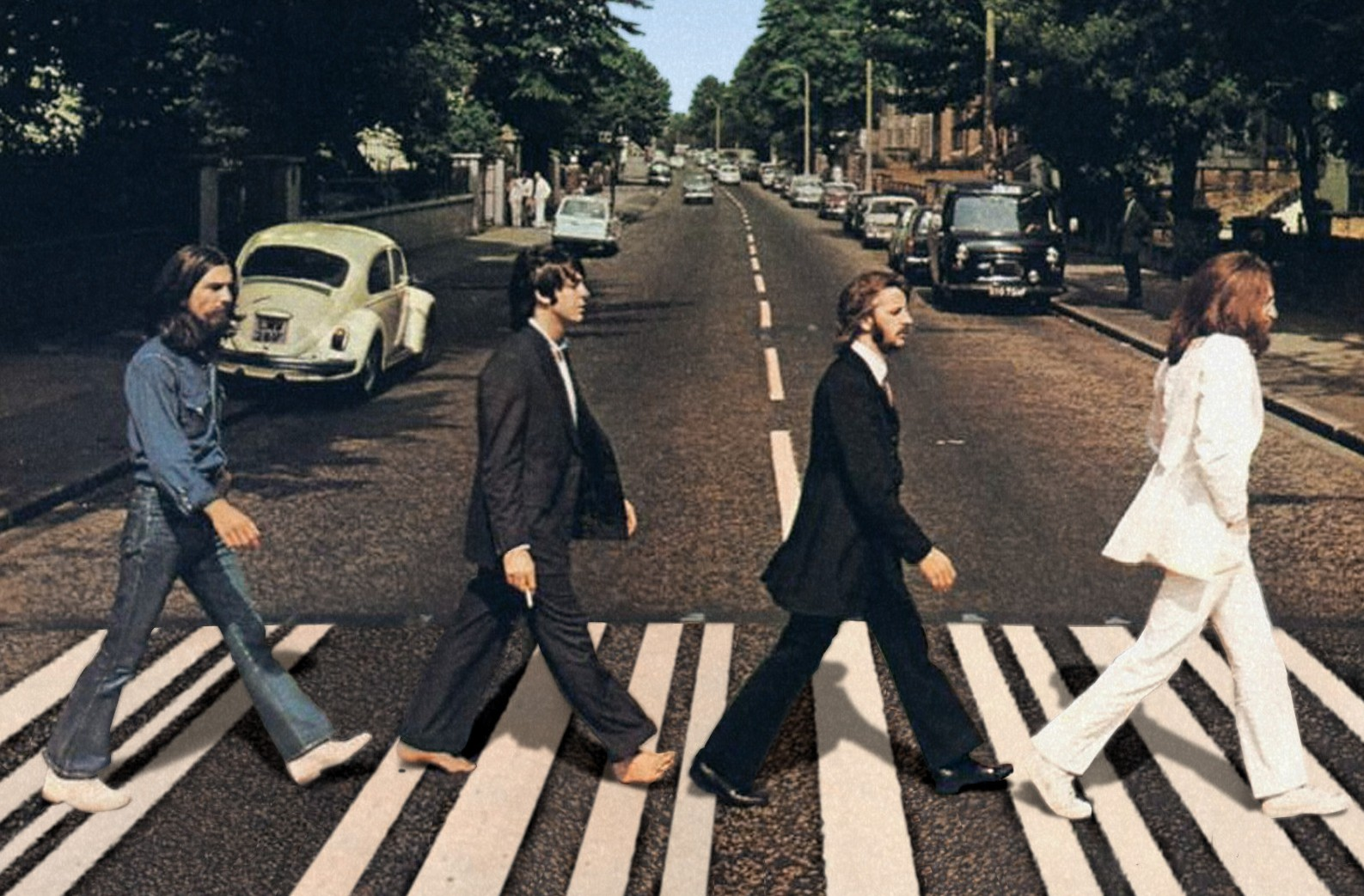 """Abbey Road"" The Beatles"