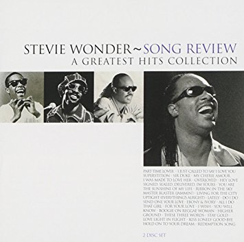 """Song Review: A Greatest Hits Collection [Import Bonus Tracks]"" Stevie Wonder"