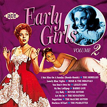 """Early Girls: 2"" Dinah Washington, Peggy Lee, The Shirelles"