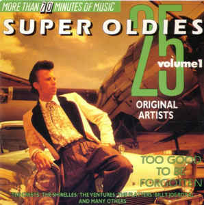 """25 Super Oldies [Disc 1]"" James Brown, The Platters, The Shirelles"