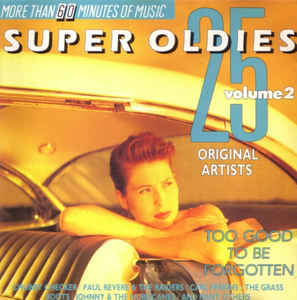 """25 Super Oldies [Disc 2]"" Little Richard, The Cascades, The Drifters, The Platters"