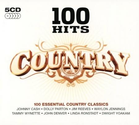 """100 Hits: Country [Disc 2]"" John Denver, Johnny Cash, The Everly Brothers, Willie Nelson"