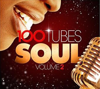 """R&B / 100 Tubes Soul Vol.2"" Aretha Franklin, Ben E. King, Bill Withers, Donald Byrd, Earth Wind & Fire, James Brown, Otis Redding, Ray Charles, Sarah Vaughan, The Temptations, Wilson Pickett"