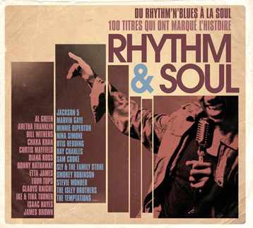 """R&B / Rhythm & Soul"" Albert King, Aretha Franklin, Dusty Springfield, James Brown, Nina Simone, Otis Redding, Sly & The Family Stone, Stevie Wonder, The Miracles, The O'Jays, The Stylistics, The Temptations"