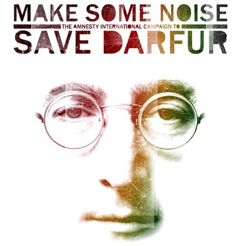 """Make Some Noise: The Amnesty International Campaign to Save Darfur Disc 1"" John Lennon"