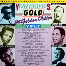 """Yesterday Gold Vol.7 - 24 Golden Oldies"" Bo Diddley, Bobby Darin, Connie Francis, Jackie Wilson, Little Richard, Ray Charles, Ricky Nelson, Sam Cooke, The Everly Brothers, The Platters"