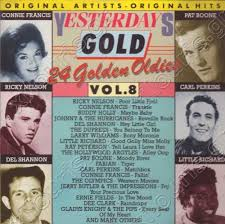 """Yesterday Gold Vol.8 - 24 Golden Oldies"" Connie Francis, Little Richard, Ricky Nelson"